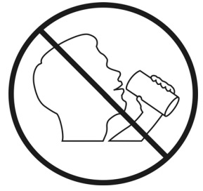 PICTOGRAPH-DO NOT DRINK
